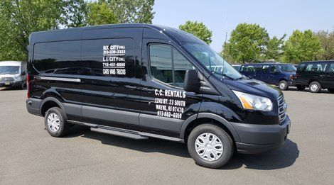 Cargo Van Rentals Ford Van Rental New York Ny