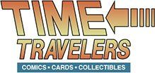Time Traveler's Comics, Cards & Collectibles logo