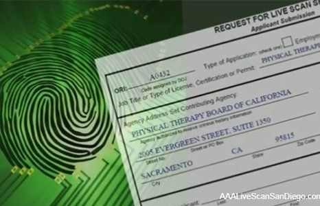request for live scan fingerprint document