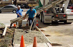 Commercial Concrete Services | Driveways | Houston, TX