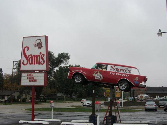 Sam's drive-in