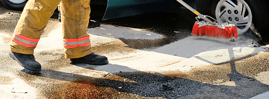 Fuel Spill Cleaning