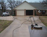 Residential Concrete Power Washing