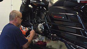 Motorcycle repair