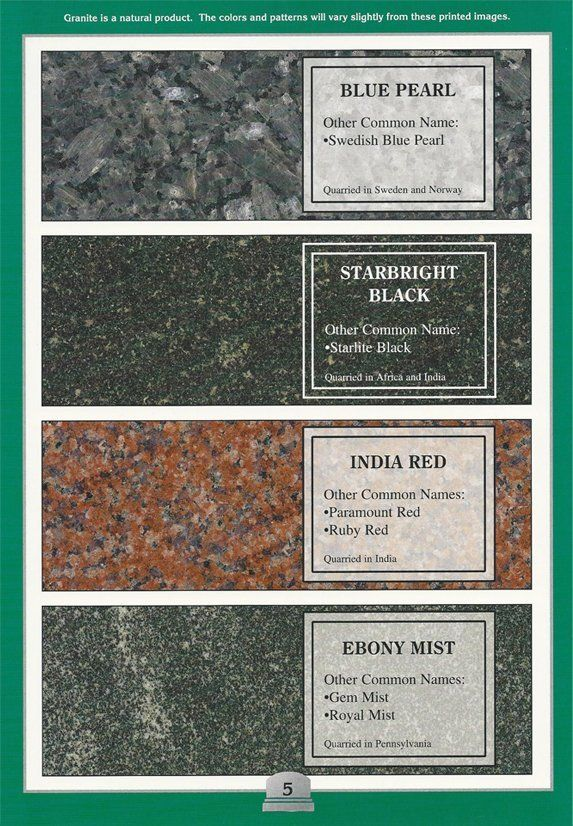 DeFever Monument Company Granite Color Gallery | Pampa, TX
