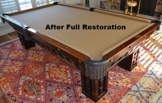 Pool Table Repairs ReCushioning Temecula CA - Pool table resurfacing