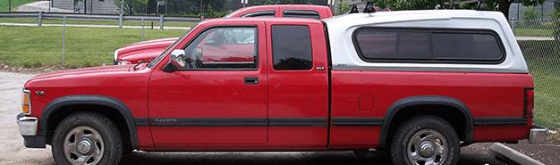 Used Camper Shells   Truck Storage   Dallas, TX