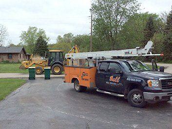 Well drill truck
