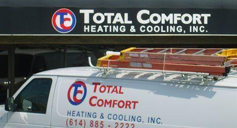 Total Comfort Heating & Cooling Inc board