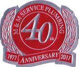 M&M Service Plumbing 40 year anniversary