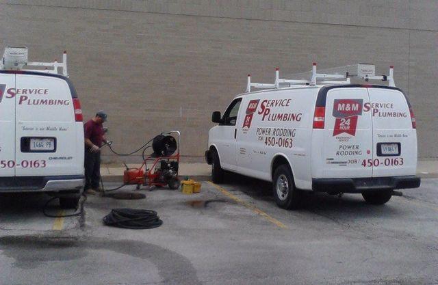 Plumbing Service Vehicle