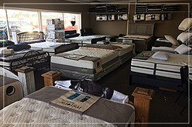 Bed and mattresses