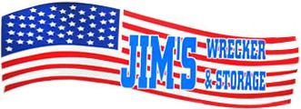 jim's wrecker and storage logo