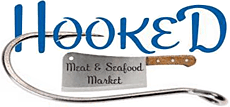 Hooked Meat & Seafood Market - Logo