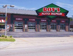 Roy's Auto Repair and Tires shop