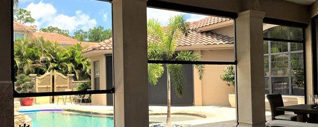 Motorized Screens Garage Screens Sebring Fl