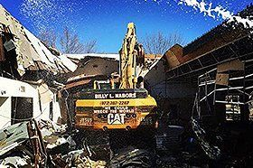Demolition project