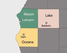 Malburg's Sanitation Service Inc-Service area map