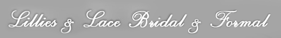 Lillies & Lace Bridal & Formal - logo