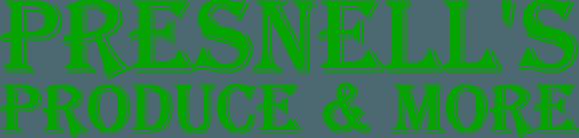 Presnell's Produce & More - Logo