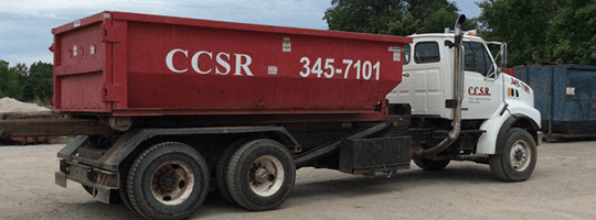 Coles County Sanitation & Recycling Truck