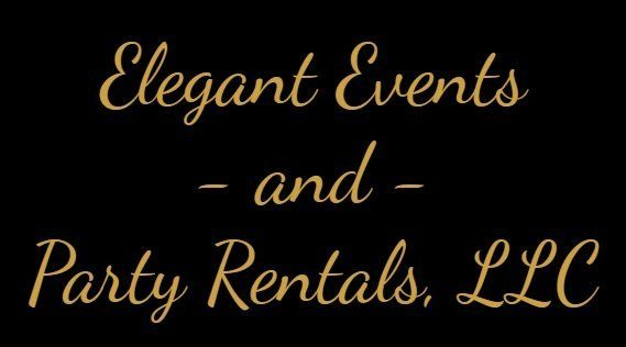 Elegant Events and Party Rentals, LLC Logo