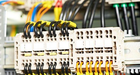 Electrical service in an industrial property