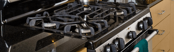 Kitchen range repair