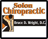 Solon Chiropractic, Bruce D. Wright, D.C. - Logo