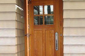 Custom Entrance Doors