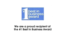 Number 1 Best in Business Award