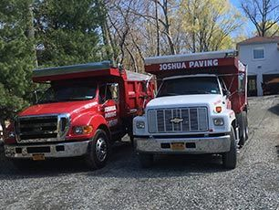 Joshua Paving Trucks